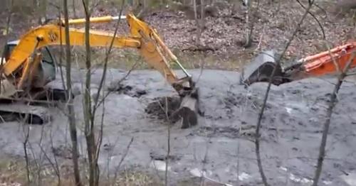 Очистка рек от ила