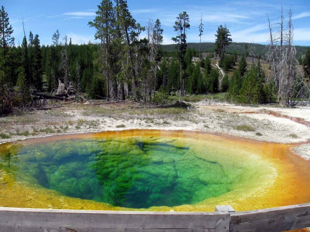 карстовое озеро воронкообразное